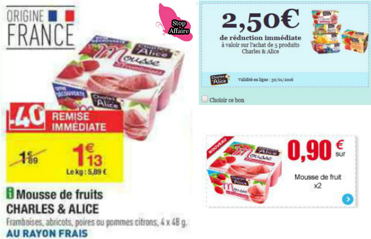 Offre Charles & Alice
