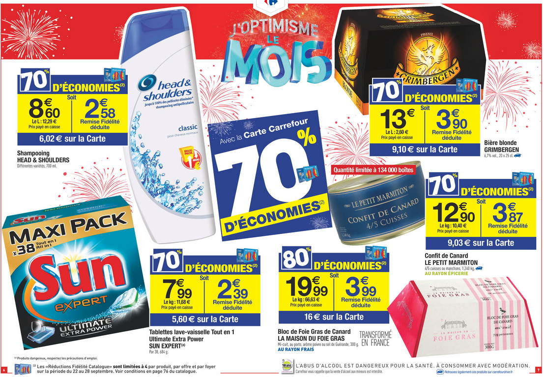Coupons reductions intermarche