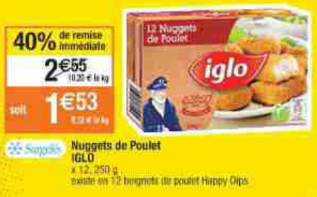 Iglo-nuggets