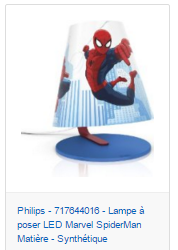 lampe-a-poser-spiderman