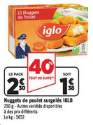 iglo nuggets