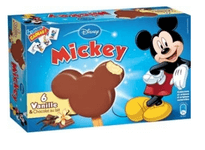 Top Bâtonnet Mickey Glace